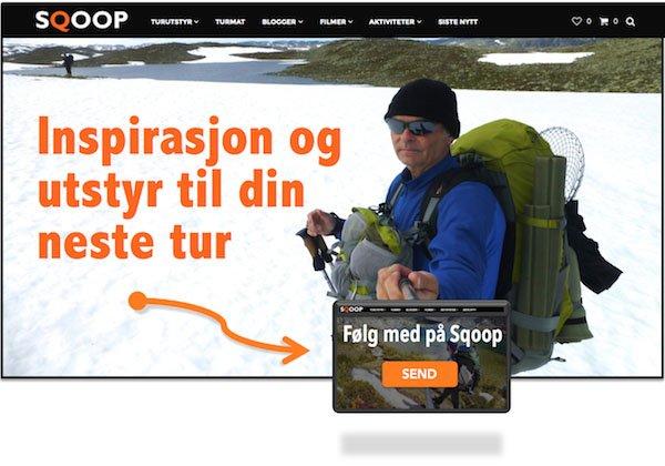 SQOOP outdoor Norway - sqoop-no-nyhetsbrev