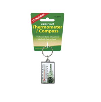 Termometer med kompass