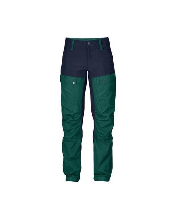 Fjällräven Keb Trousers W Regular Copper Green kjøper du på SQOOP outdoor