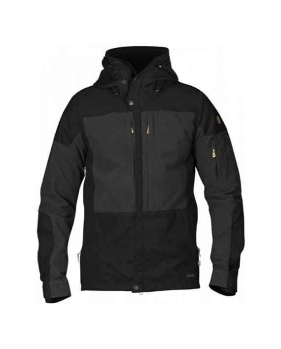 Fjällräven Keb Jacket Black kjøper du på SQOOP outdoor
