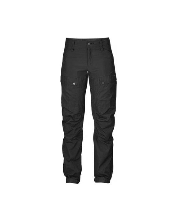Fjällräven Keb Trousers W Regular Black-Black kjøper du på SQOOP outdoor