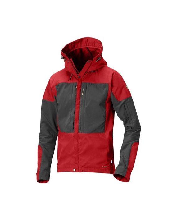 Fjällräven Keb Jacket Red kjøper du på SQOOP outdoor