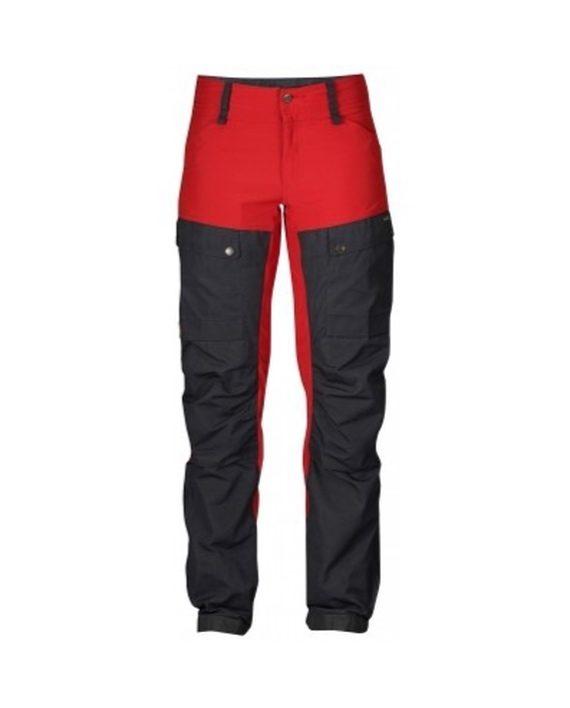 Fjällräven Keb Trousers W Regular Red kjøper du på SQOOP outdoor