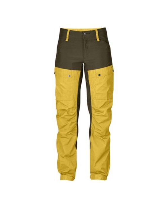Fjällräven Keb Trousers W Regular Ochre kjøper du på SQOOP outdoor