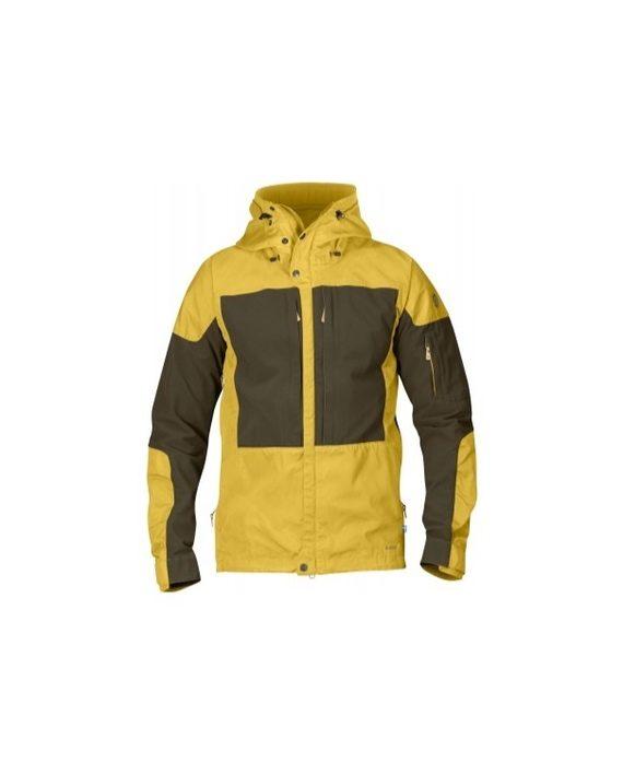 Fjällräven Keb Jacket Ochre kjøper du på SQOOP outdoor