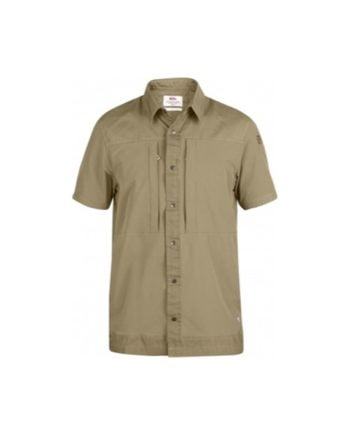 Fjällräven Keb Trek Shirt SS Sand kjøper du på SQOOP outdoor