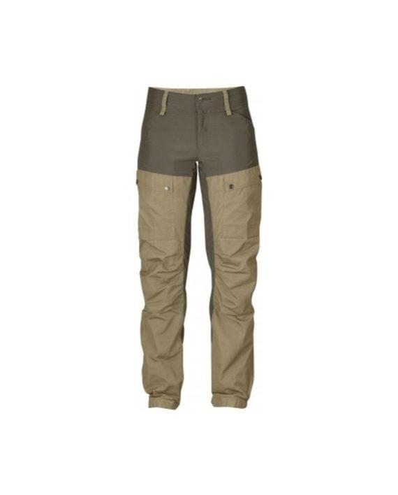 Fjällräven Keb Trousers W Regular Sand kjøper du på SQOOP outdoor