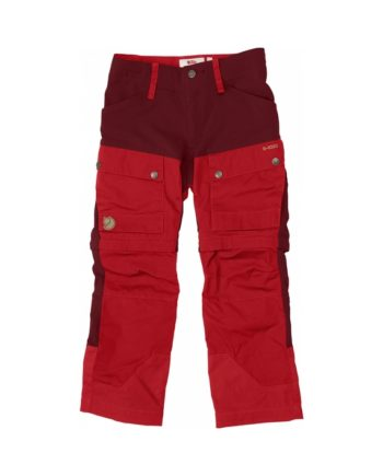 Fjällräven Kids Keb Gaiter Trousers Ox Red kjøper du på SQOOP outdoor
