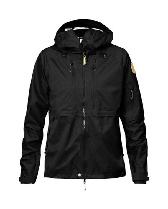 Fjällräven Keb Eco-Shell Jacket W Black kjøper du på SQOOP outdoor