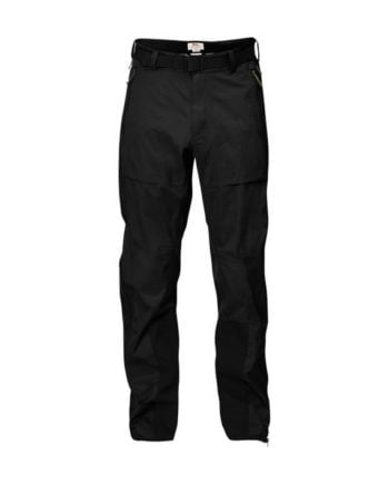 Fjällräven Keb Eco-Shell Trousers Black kjøper du på SQOOP outdoor