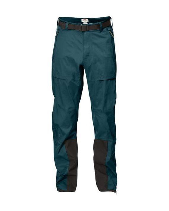 Fjällräven Keb Eco-Shell Trousers Glacier Green kjøper du på SQOOP outdoor