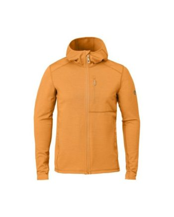 Fjällräven Keb Fleece Hoodie M SEASHELL ORANGE kjøper du på SQOOP outdoor (SQOOP.no)