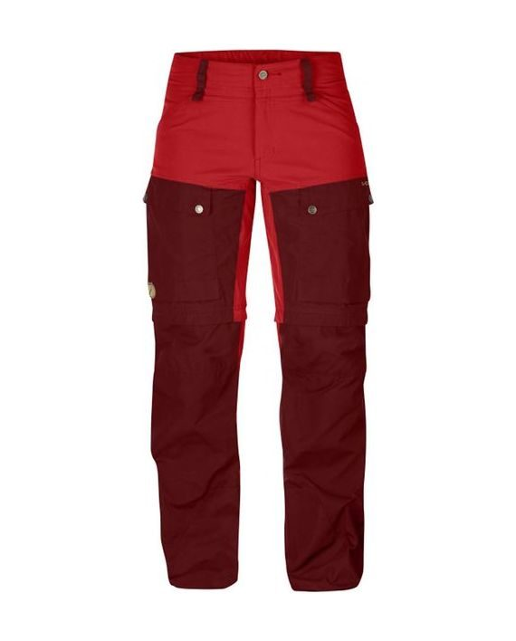 Fjällräven Keb Gaiter Trousers W. Ox Red kjøper du på SQOOP outdoor