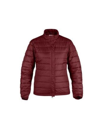 Fjällräven Keb Padded Jacket W. Dark Garnet kjøper du på SQOOP outdoor
