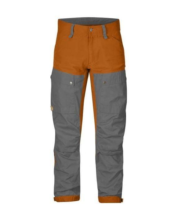 Fjällräven Keb Trousers Long Seashell Orange-Grey kjøper du på SQOOP outdoor