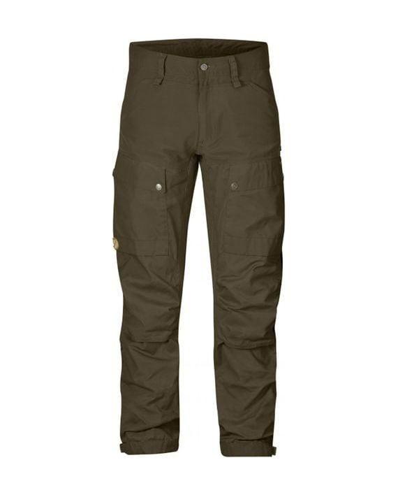 Fjällräven Keb Trousers Long Khaki kjøper du på SQOOP outdoor
