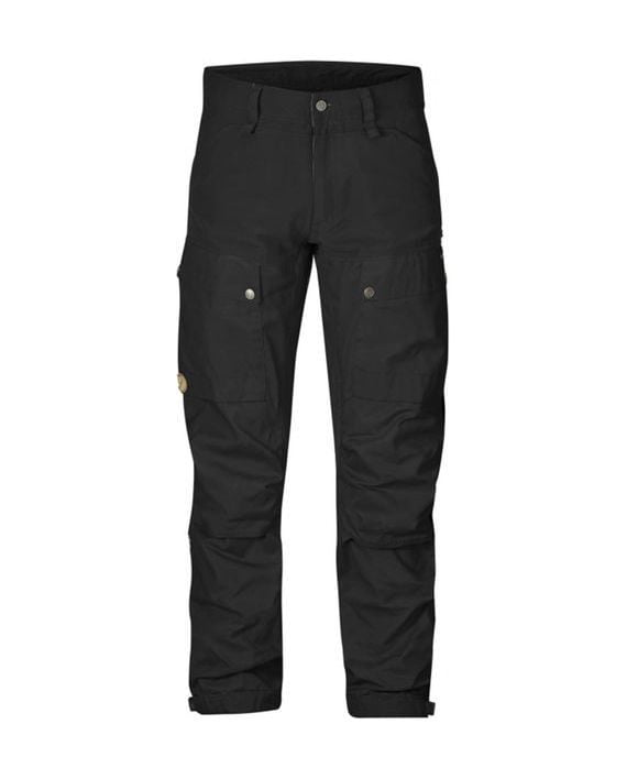 Fjällräven Keb Trousers Long Black-Black kjøper du på SQOOP outdoor