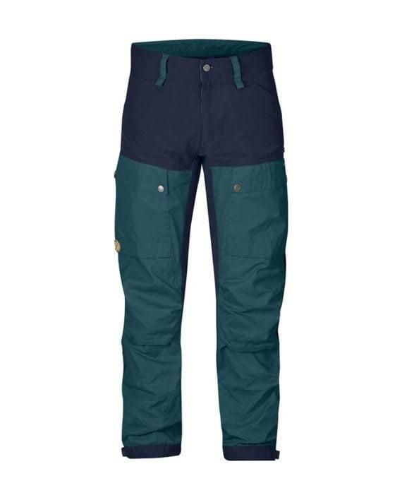 Fjällräven Keb Trousers Long Glacier Green kjøper du på SQOOP outdoor