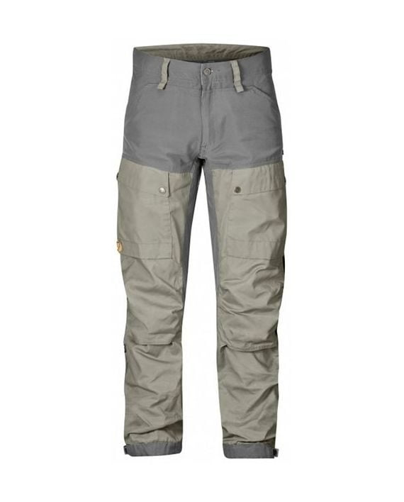 Fjällräven Keb Trousers Regular Fog-Grey kjøper du på SQOOP outdoor