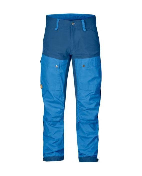 Fjällräven Keb Trousers Long Un Blue kjøper du på SQOOP outdoor