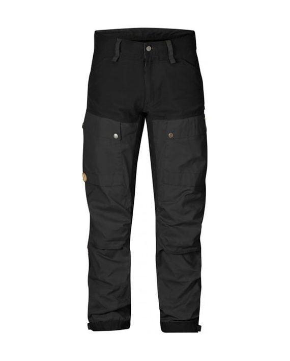 Fjällräven Keb Trousers Long Black kjøper du på SQOOP outdoor