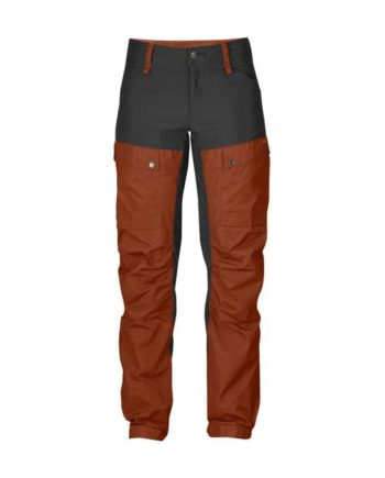 Fjällräven Keb Trousers W Short Autumn Leaf kjøper du på SQOOP outdoor