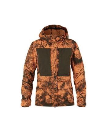 Fjällräven Lappland Hybrid Jacket Camo W ORANGE CAMO kjøper du på SQOOP outdoor