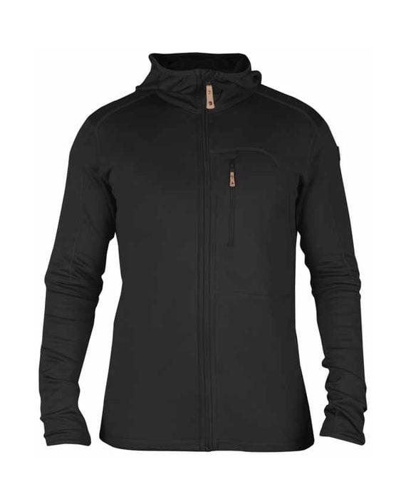 Fjällräven Keb Fleece Jacket Dark Grey kjøper du på SQOOP outdoor