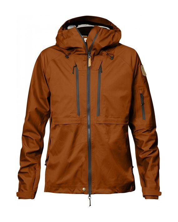 Fjällräven Keb Eco-Shell Jacket W Autumn Leaf kjøper du på SQOOP outdoor