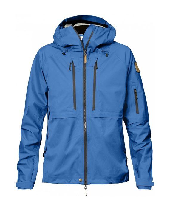 Fjällräven Keb Eco-Shell Jacket W Un Blue kjøper du på SQOOP outdoor