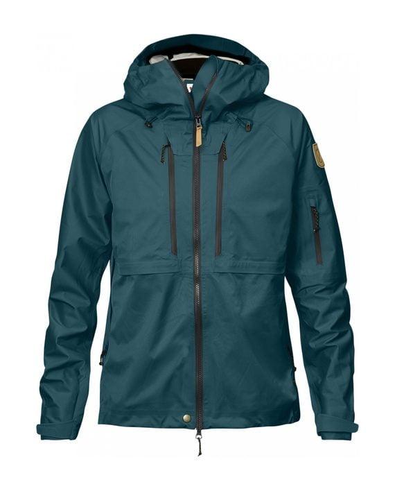 Fjällräven Keb Eco-Shell Jacket W Glacier Green kjøper du på SQOOP outdoor