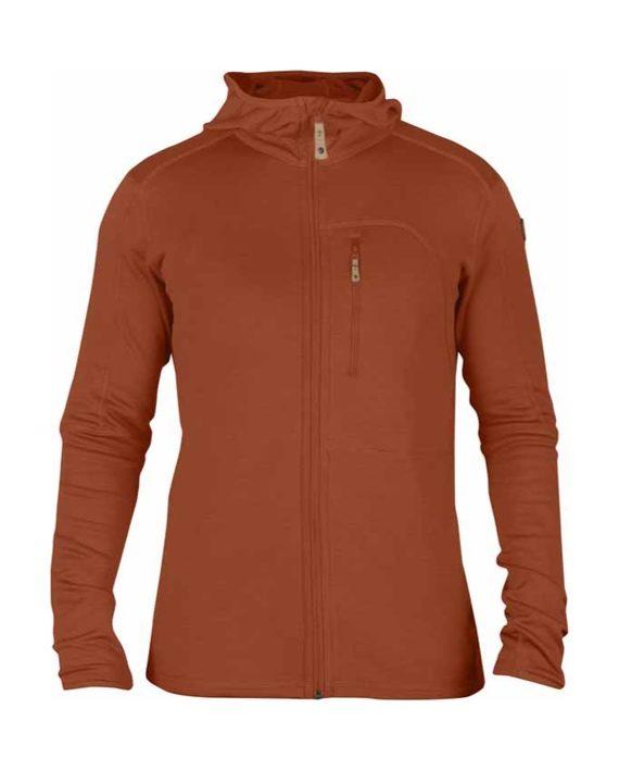 Fjällräven Keb Fleece Jacket Autumn Leaf kjøper du på SQOOP outdoor