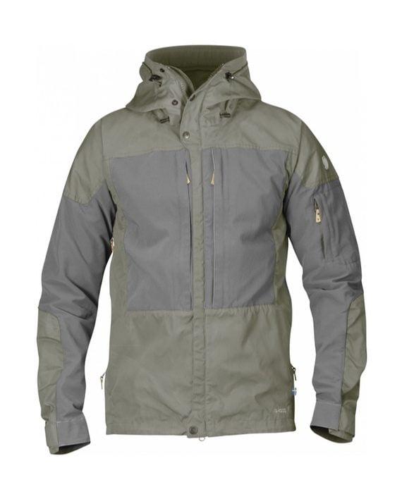 Fjällräven Keb Jacket Fog-Grey kjøper du på SQOOP outdoor