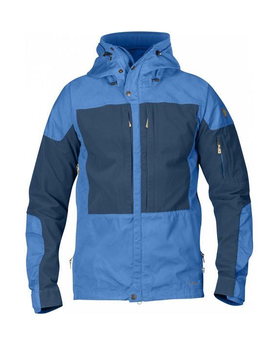 Fjällräven Keb Jacket Un Blue kjøper du på SQOOP outdoor