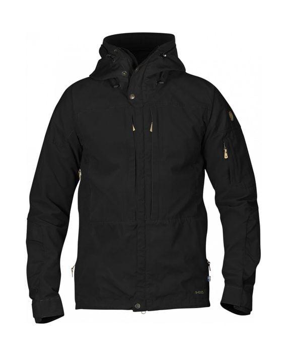 Fjällräven Keb Jacket Black-Black kjøper du på SQOOP outdoor