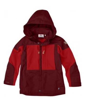 Fjällräven Kids Keb Jacket Ox Red kjøper du på SQOOP outdoor