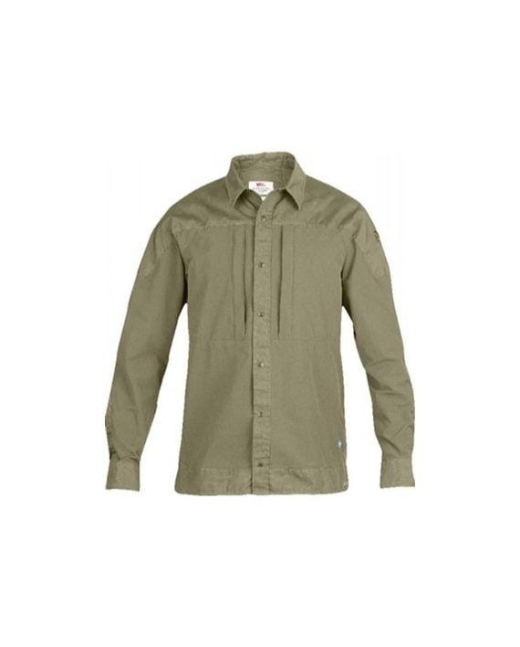 Fjällräven Keb Trek Shirt LS Light Khaki kjøper du på SQOOP outdoor