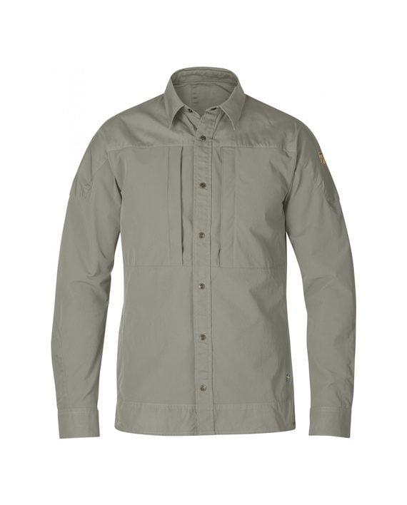 Fjällräven Keb Trek Shirt LS Fog kjøper du på SQOOP outdoor