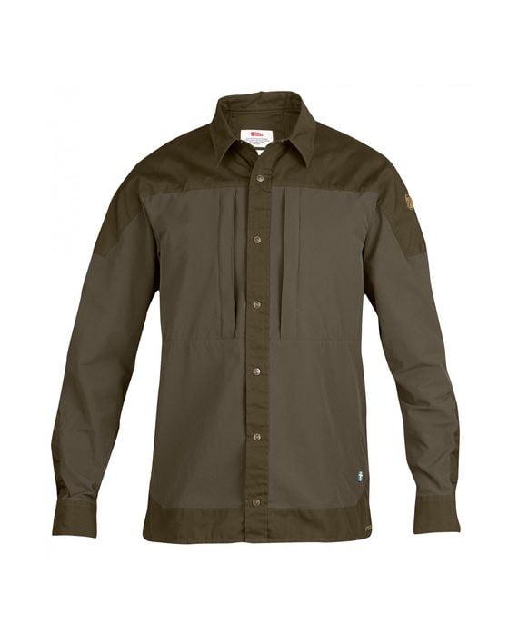 Fjällräven Keb Trek Shirt LS Tarmac kjøper du på SQOOP outdoor
