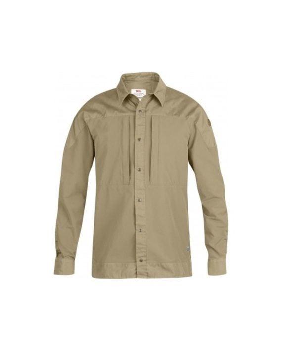 Fjällräven Keb Trek Shirt LS Sand kjøper du på SQOOP outdoor
