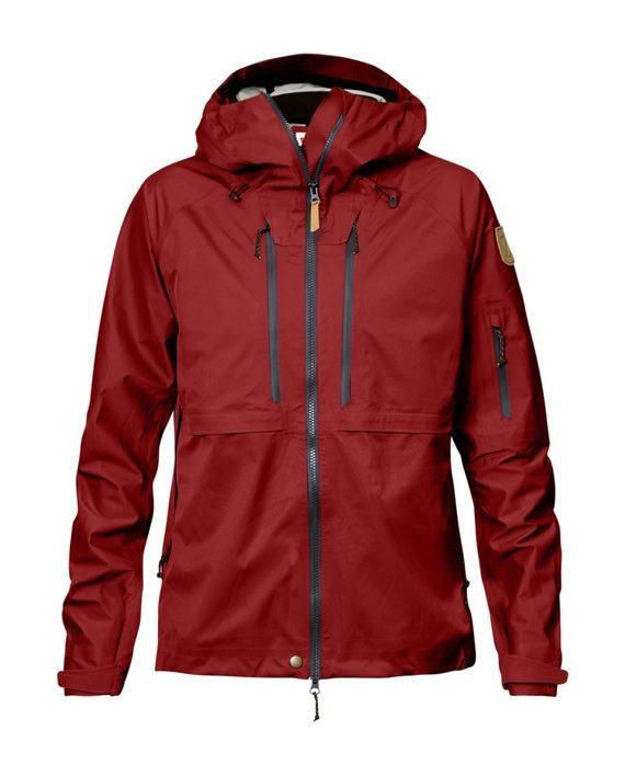 Fjällräven Keb Eco-Shell Jacket W Lava kjøper du på SQOOP outdoor