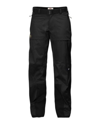 Fjällräven Keb Eco-Shell Trousers W Black kjøper du på SQOOP outdoor