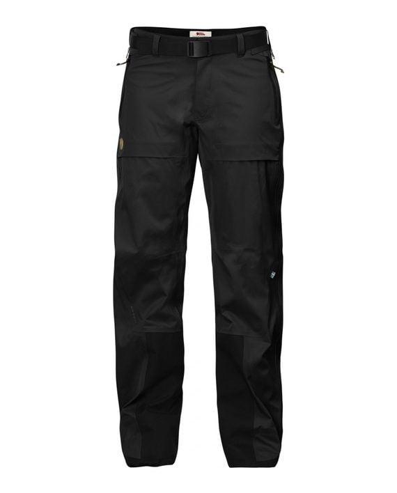 Fjällräven Keb Eco-Shell Trousers W Black kjøper du på SQOOP outdoor