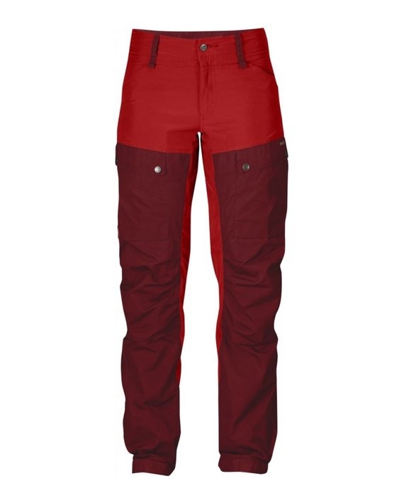 Fjällräven Keb Trousers W Regular Ox Red kjøper du på SQOOP outdoor