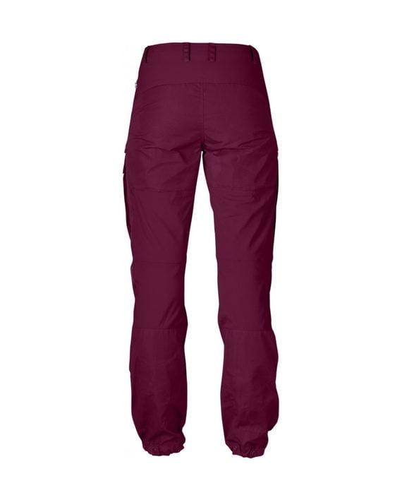 Fjällräven Keb Trousers W Regular Plum kjøper du på SQOOP outdoor