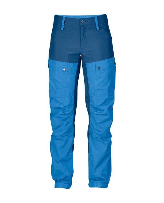 Fjällräven Keb Trousers W Regular Un Blue kjøper du på SQOOP outdoor