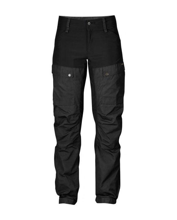 Fjällräven Keb Trousers W Regular Black kjøper du på SQOOP outdoor