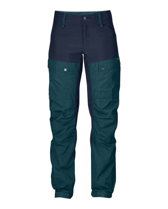Fjällräven Keb Trousers W Regular Glacier Green kjøper du på SQOOP outdoor
