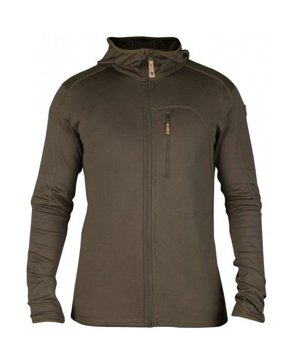 Fjällräven Keb Fleece Jacket Tarmac kjøper du på SQOOP outdoor