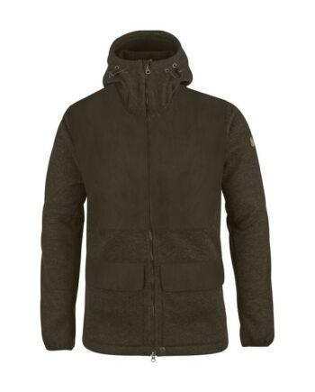 Fjällräven Lappland Pyrsch Jacket DARK OLIVE kjøper du på SQOOP outdoor